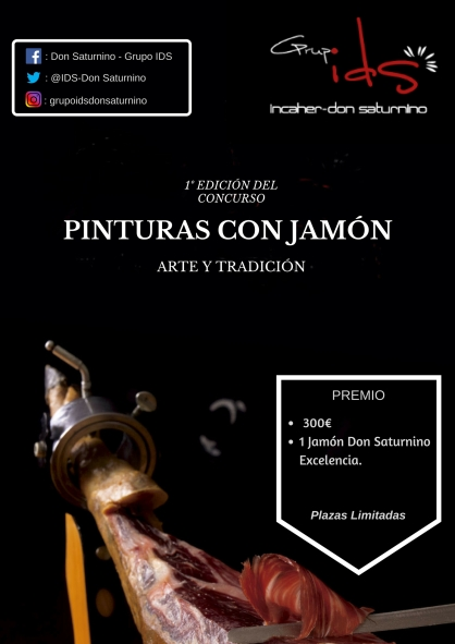 CARTEL CONCURSO PINTURAS CON JAMÓN